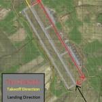 Grishno air traffic patterns