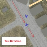 Aircraft Placement on Taxiway