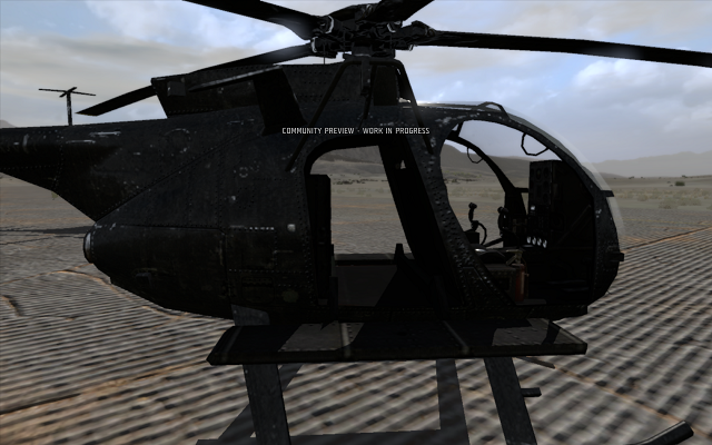 The Old Arma II Littlebird